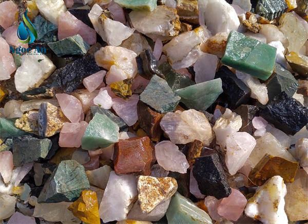 đá thạch anh thô