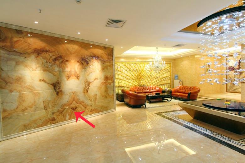 Đá cẩm thạch được sử dụng trong nội thất
