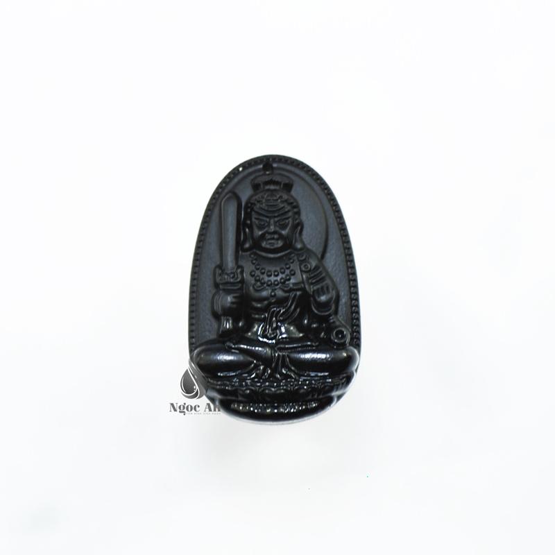 Đá obsidian đen mệnh thuỷ - mệnh mộc
