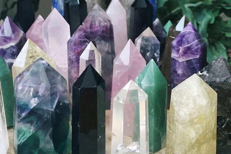 màu sắc của các loại đá thạch anh
