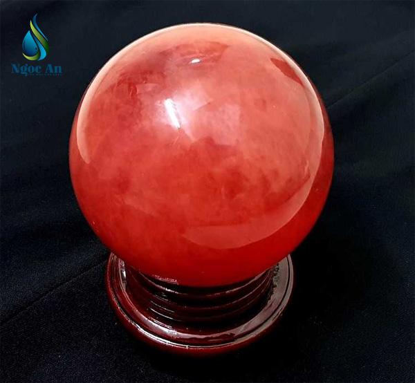 quả cầu phong thủy đá phong thủy