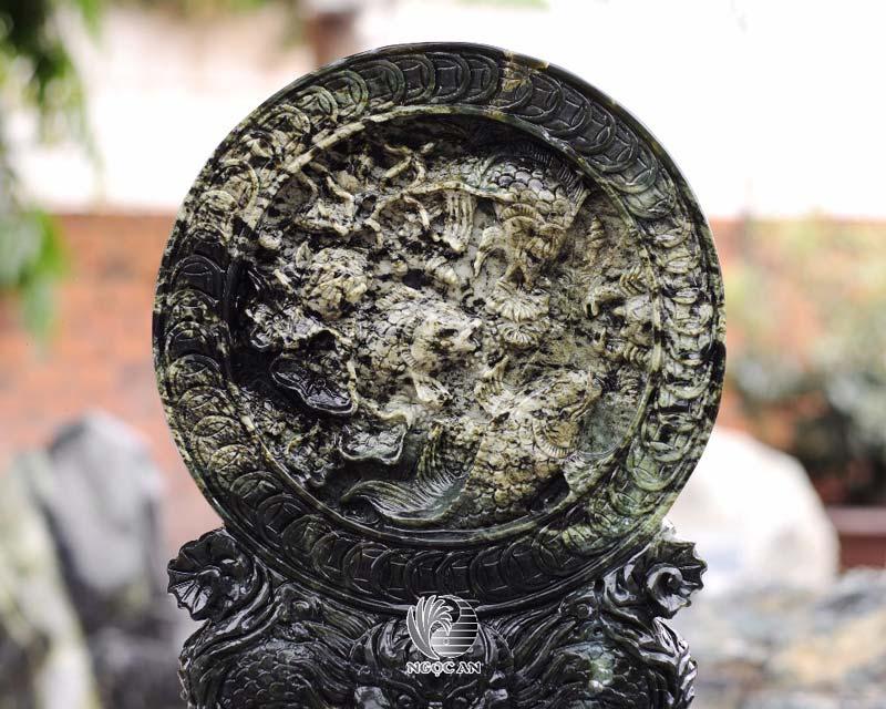 đĩa khắc cá chéo