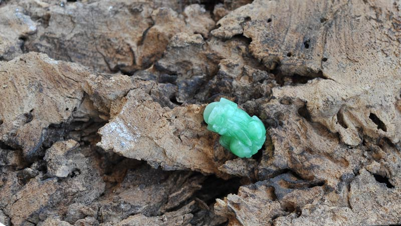Tỳ hưu phong thủy đá cẩm thạch xanh
