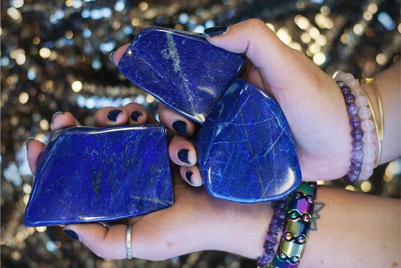 Nguyên vật liệu Lapis chế tác đồ trang sức