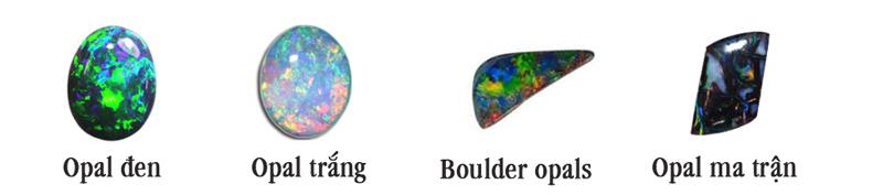 các loại đá opal thông dụng